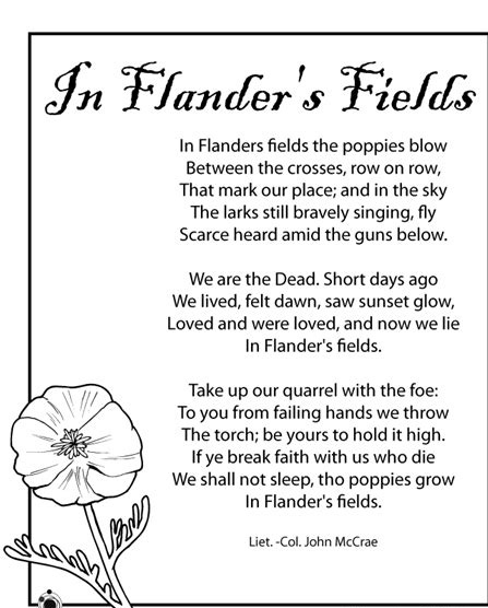 Image result for memorial day poems printables